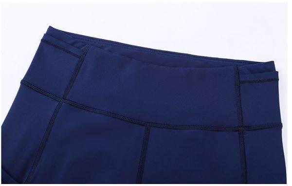 Custom Blue Gym Leggings Wholesale1 - Blue Gym Leggings Wholesale - Custom Fitness Apparel Manufacturer
