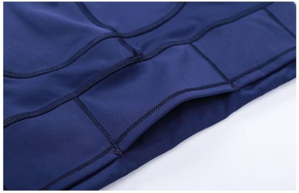 Custom Blue Gym Leggings Wholesale2 - Blue Gym Leggings Wholesale - Custom Fitness Apparel Manufacturer