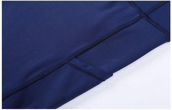 Custom Blue Gym Leggings Wholesale3 - Blue Gym Leggings Wholesale - Custom Fitness Apparel Manufacturer