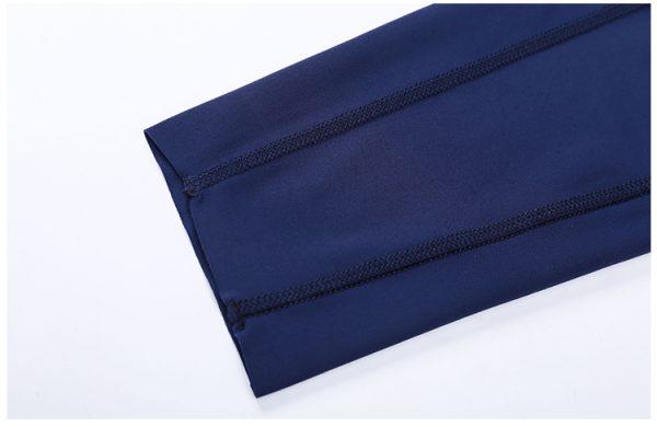Custom Blue Gym Leggings Wholesale4 - Blue Gym Leggings Wholesale - Custom Fitness Apparel Manufacturer
