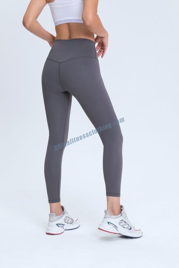 Grey Sports Leggings Wholesale