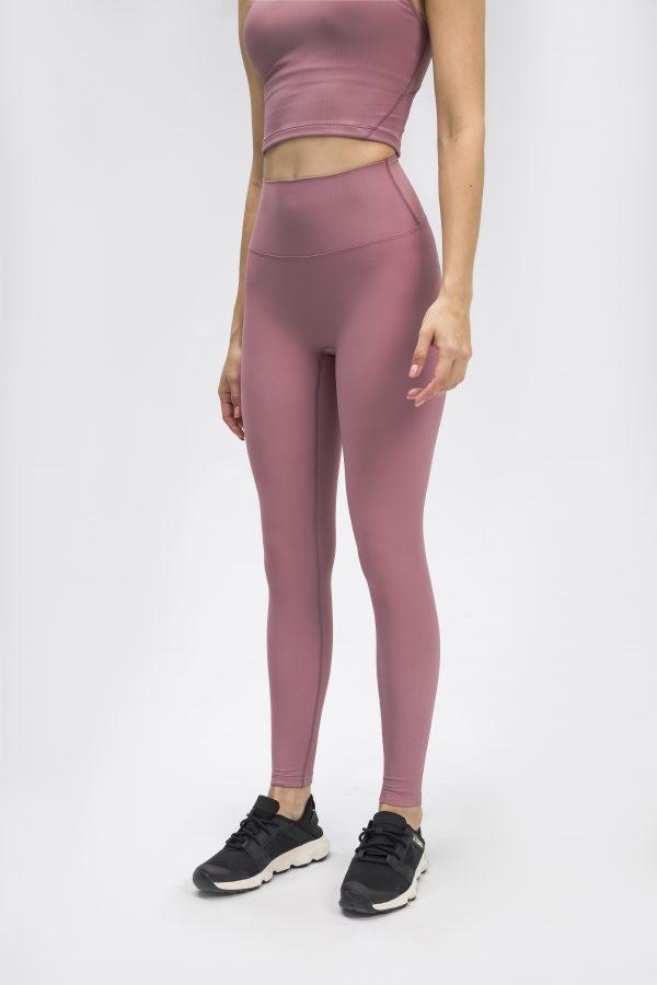 Gym Leggings pink Wholesale3 scaled - Gym Leggings Pink Wholesale - Custom Fitness Apparel Manufacturer