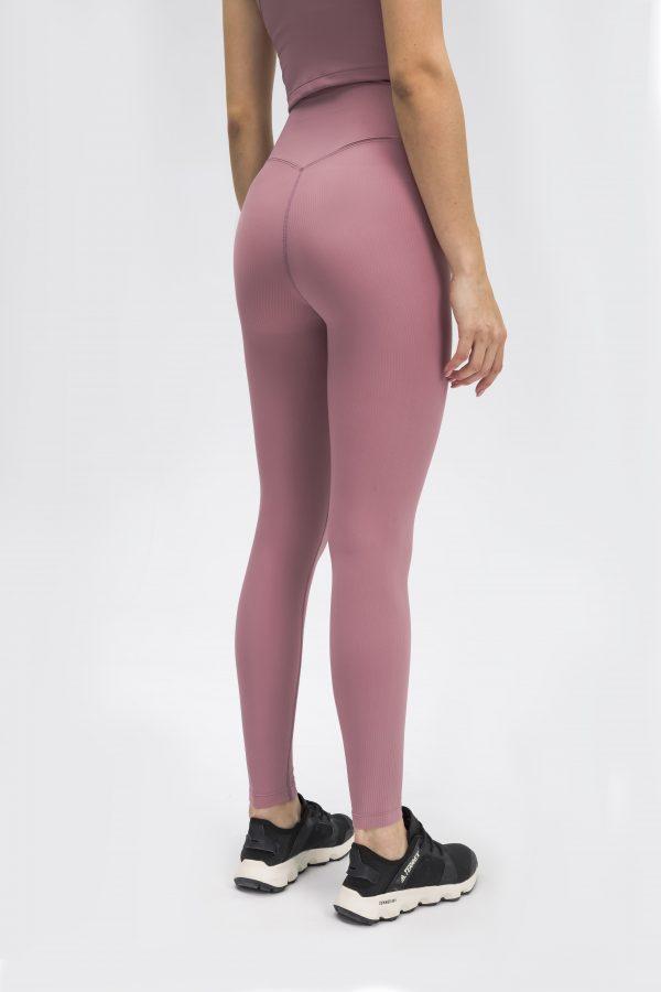Gym Leggings pink Wholesale4. scaled - Gym Leggings Pink Wholesale - Custom Fitness Apparel Manufacturer