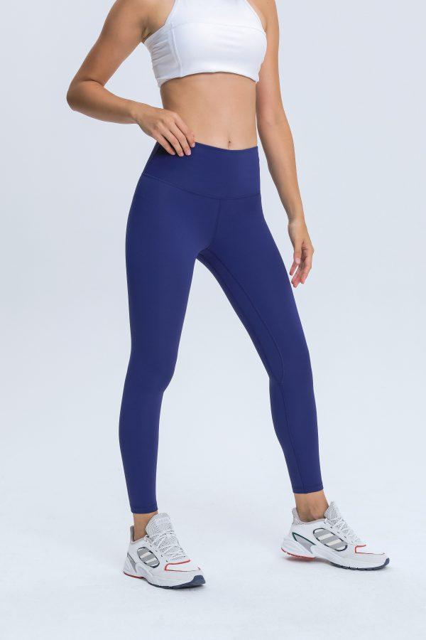 Navy Blue Leggings Wholesale1 scaled - Navy Blue Leggings Wholesale - Custom Fitness Apparel Manufacturer