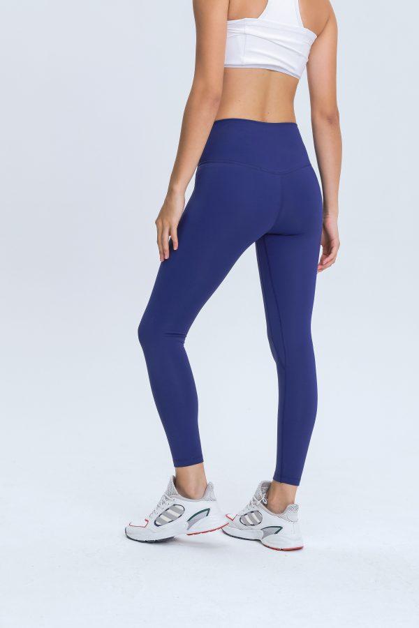 Navy Blue Leggings Wholesale3 scaled - Navy Blue Leggings Wholesale - Custom Fitness Apparel Manufacturer