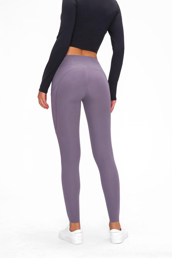 Purple Leggings Wholesale 1 scaled - Purple Leggings Wholesale - Custom Fitness Apparel Manufacturer