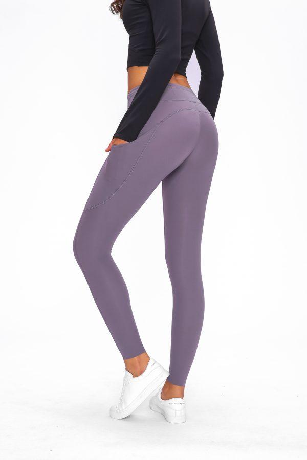 Purple Leggings Wholesale2 1 scaled - Purple Leggings Wholesale - Custom Fitness Apparel Manufacturer