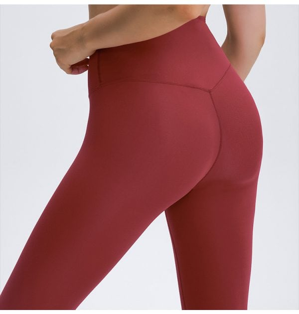Red Workout Leggings