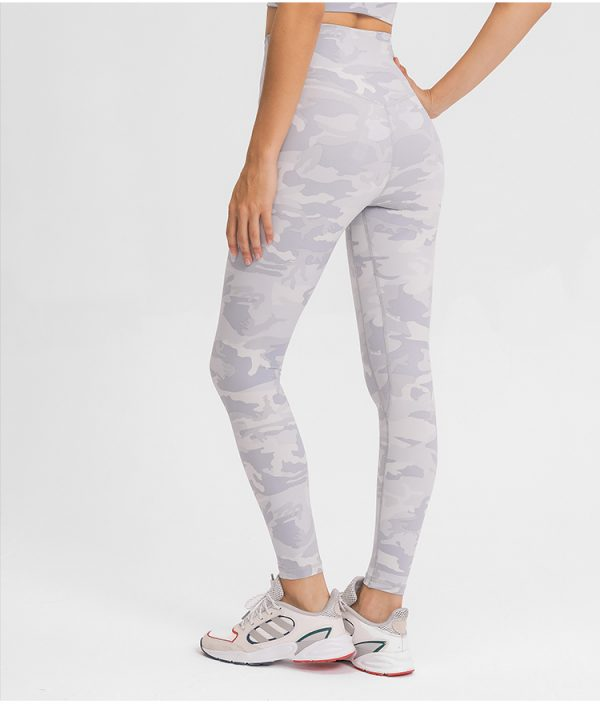 White Camo Leggings Wholesale
