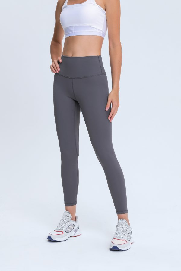 Yoga Pants Grey Wholesale1 scaled - Yoga Pants Grey Wholesale - Custom Fitness Apparel Manufacturer