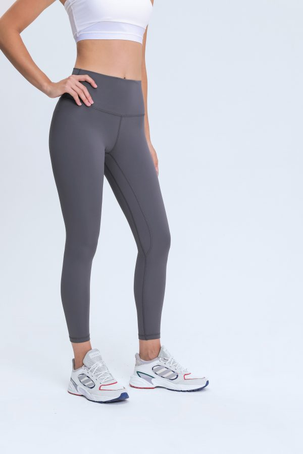 Yoga Pants Grey Wholesale2 scaled - Yoga Pants Grey Wholesale - Custom Fitness Apparel Manufacturer