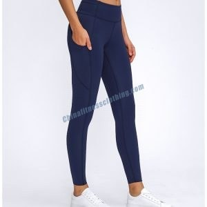 Navy Sports Leggings manufacturer