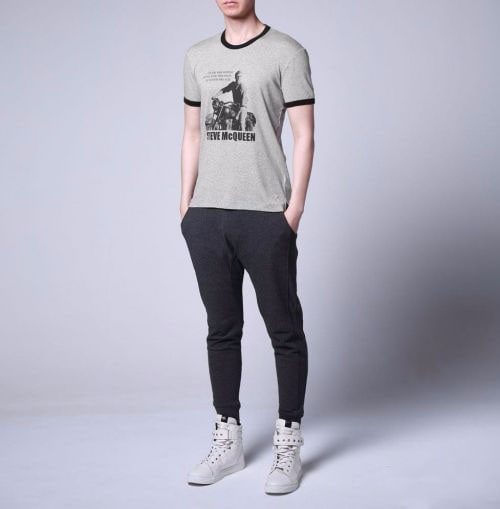 the collocation of mens' short sleeves