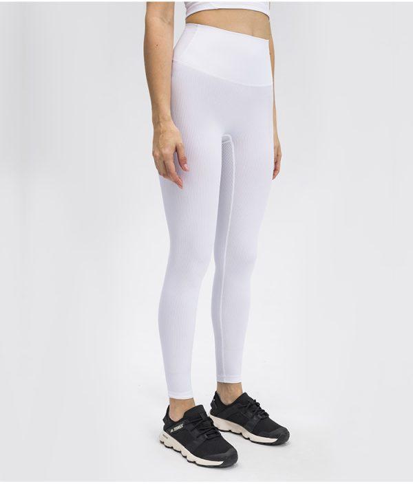 white workout leggings2 - White Workout Leggings Wholesale - Custom Fitness Apparel Manufacturer