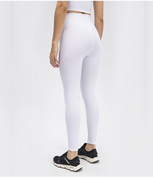 white workout leggings3 - White Workout Leggings Wholesale - Custom Fitness Apparel Manufacturer