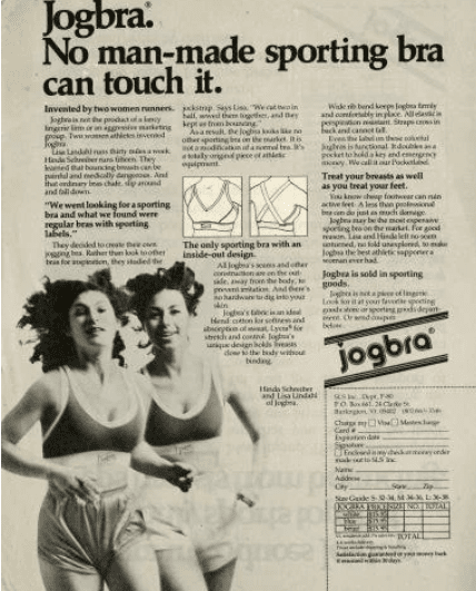 The 'sports bra' that Changed Women's History