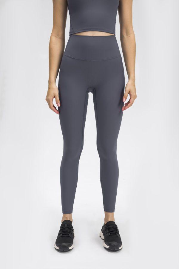 grey workout leggings 1 scaled - Grey Workout Leggings Wholesale - Custom Fitness Apparel Manufacturer
