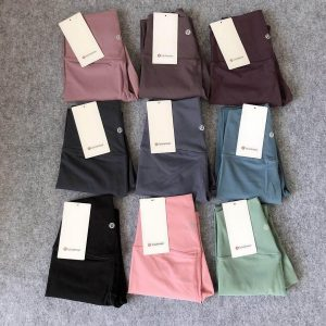 what are the different lululemon fabric